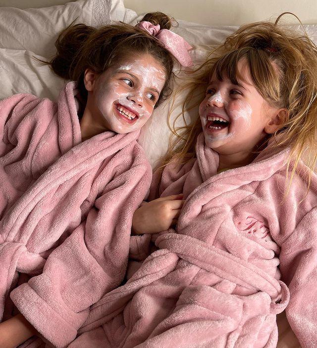El divertido plan beauty de Wanda Nara y sus hijas Francesca e Isabella Icardi