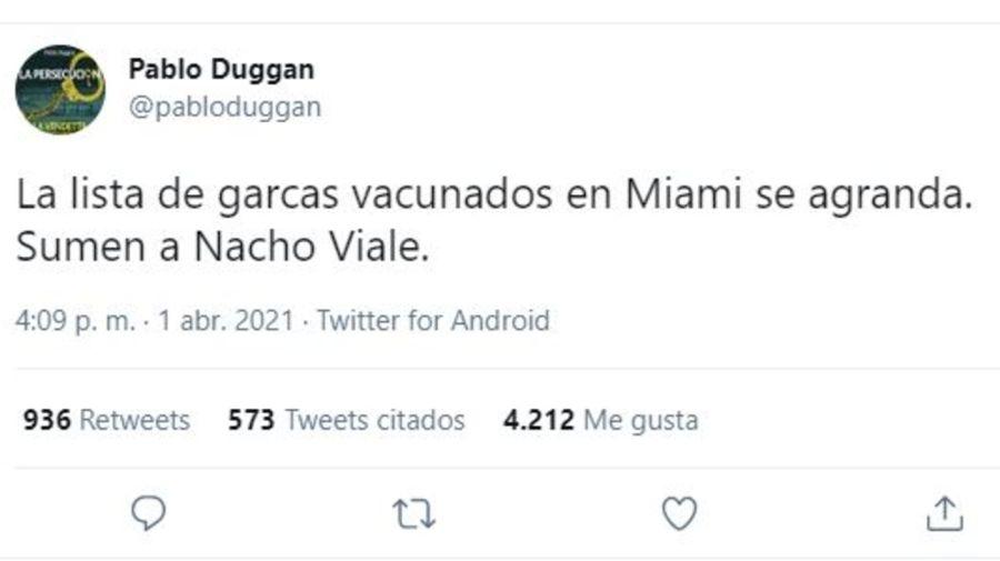 Pablo Duggan contra Nacho Viale
