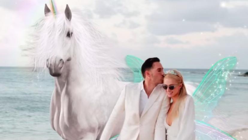 Paris Hilton y su pareja