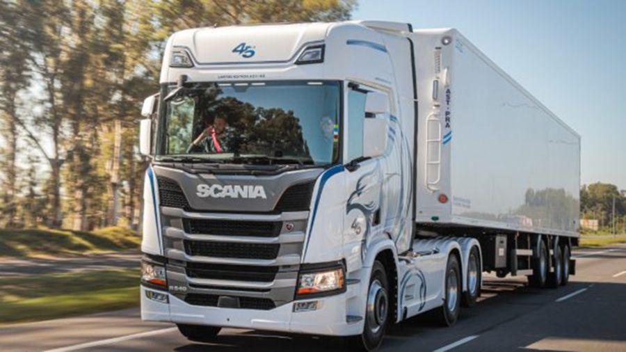 Scania lanza una edición limitada por sus 45 años en la Argentina