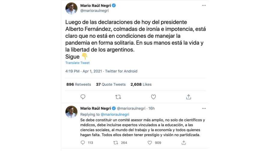 20210402 Mario Negri tuit