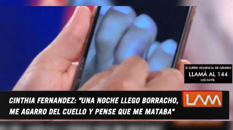 Cinthia Fernández pie 0204