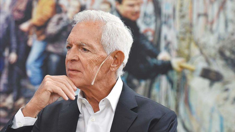 Eduardo Costantini, en la entrevista con Jorge Fontevecchia.