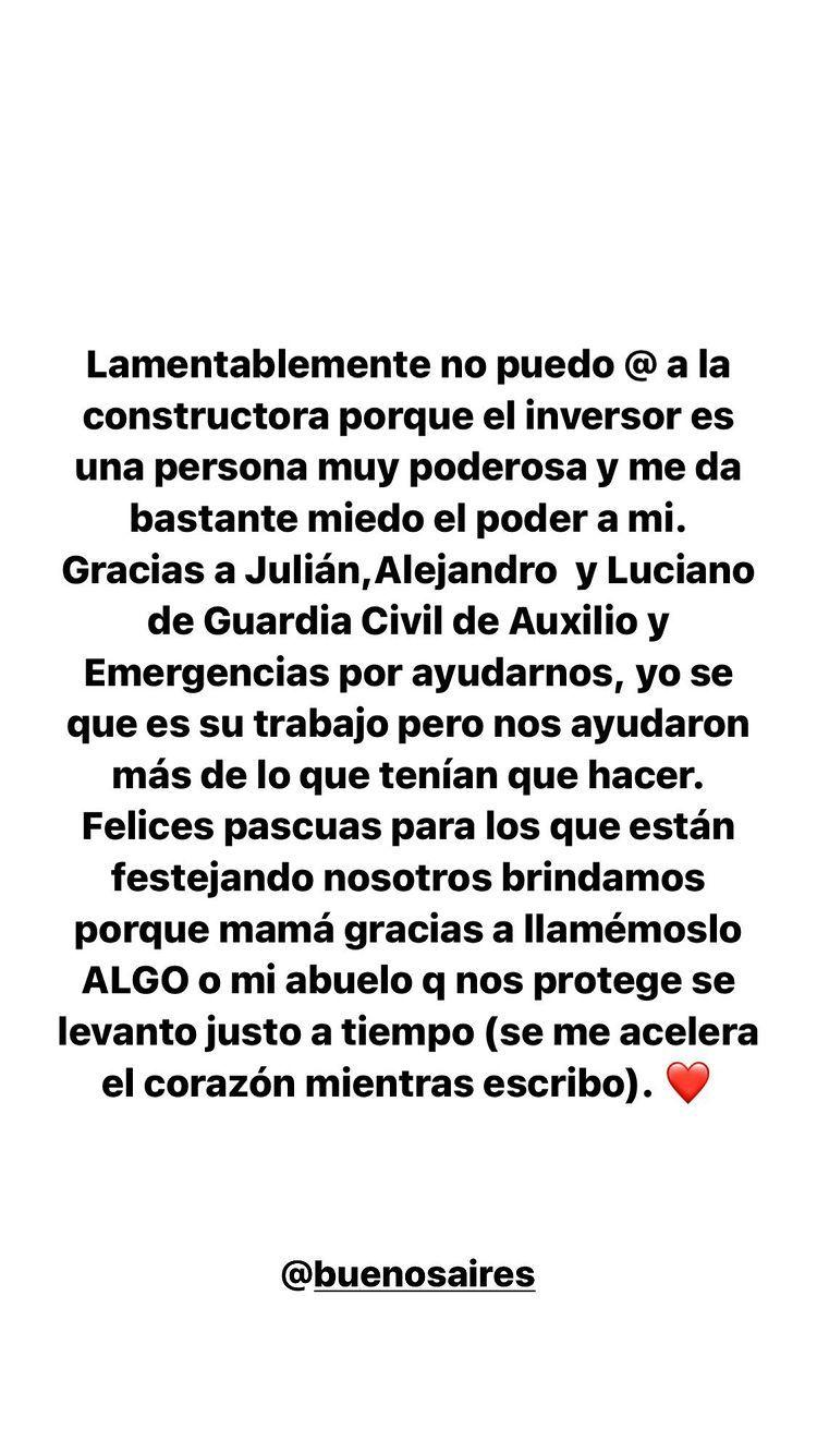 El trágico accidente por el que casi pierde la vida la madre de Sofía Pachano