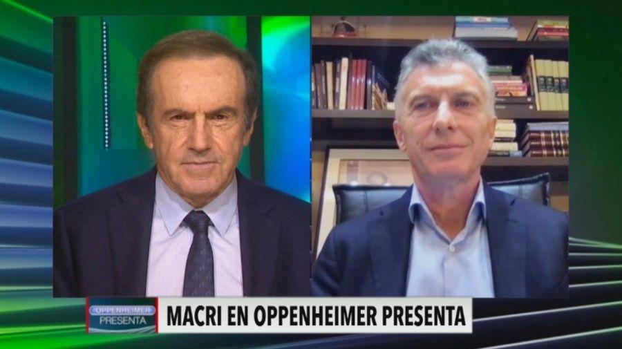 Entrevista Oppenheimer Macri