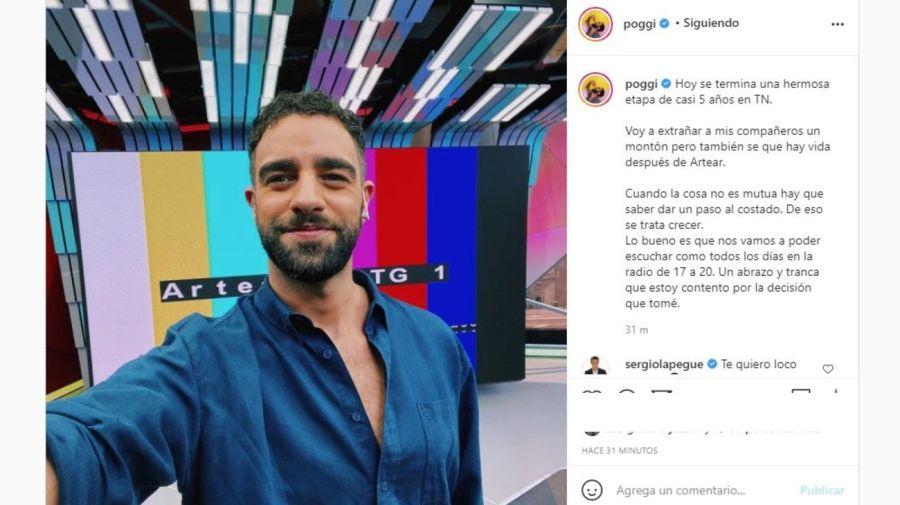 Diego Poggi - su renuncia a TN
