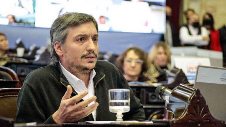 Diputado Máximo Kirchner.