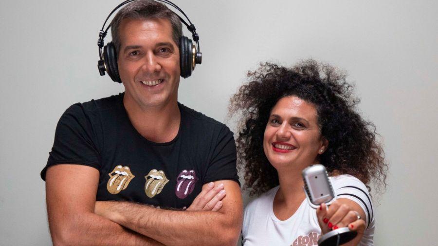 Franco Mercuriali y Noelia Ricci