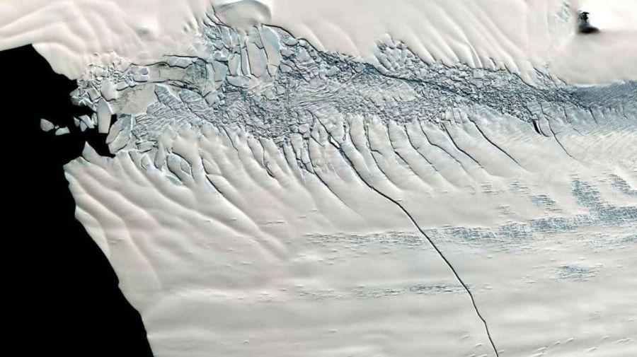 Glaciares Antártida Derretimiento