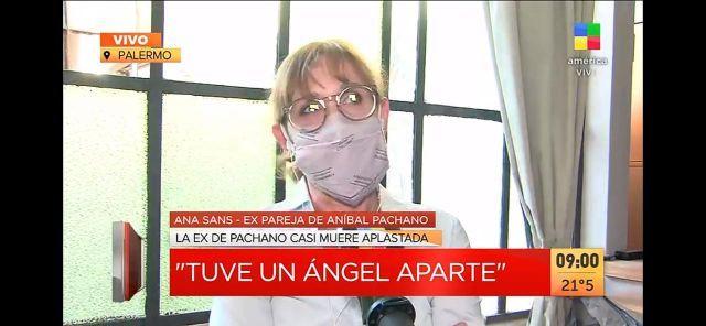 La palabra de Ana Sans, la mamá de Sofía Pachano, tras el derrumbe en su casa