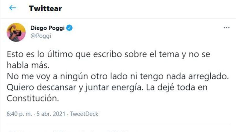 Tuit de Diego Poggi