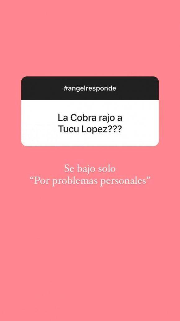 Ángel de Brito reveló los verdaderos motivos de la renuncia del Tucu López a La Academia