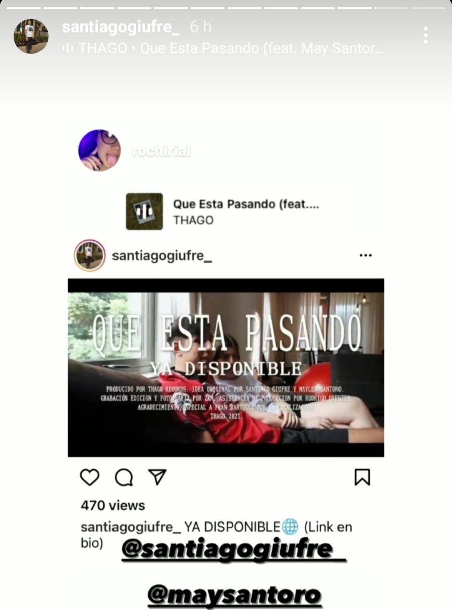 Ida y vuelta en Instagram: Rocío Rial tendría un nuevo candidato y es cantante