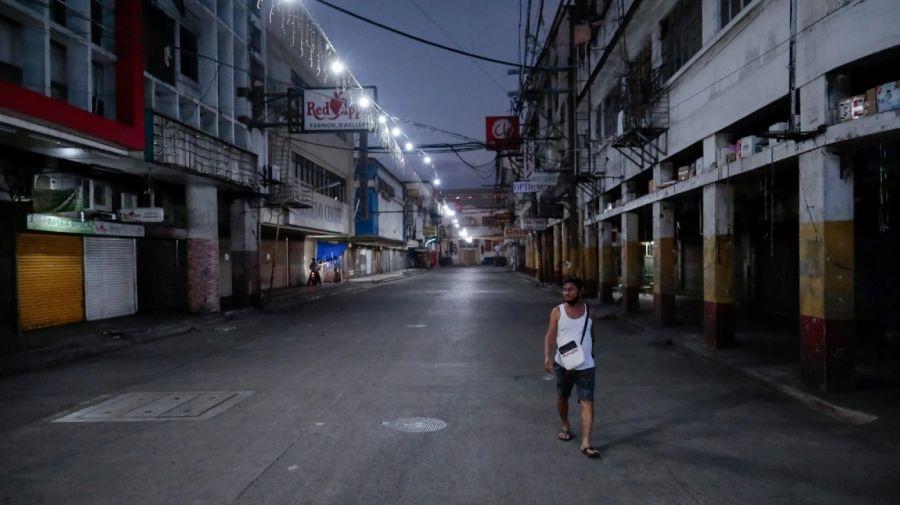 Toque de Queda Filipinas