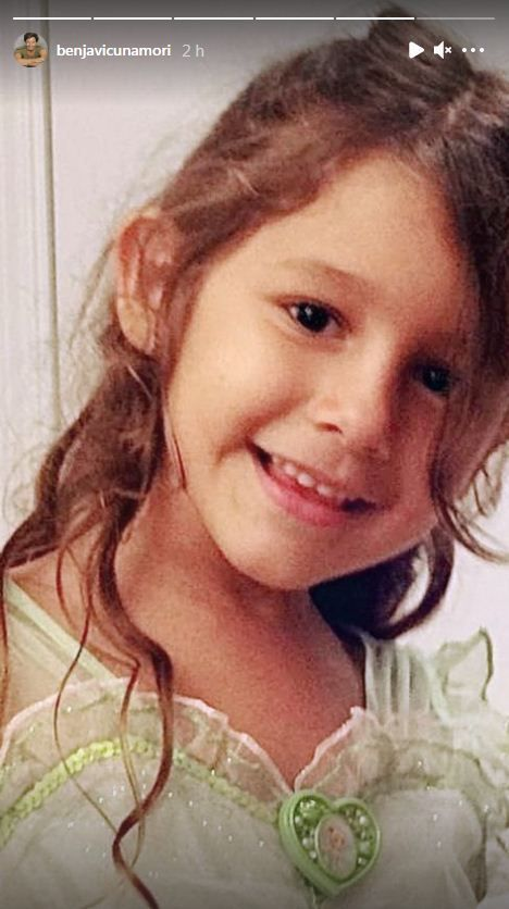 Benjamín Vicuña homenajeó a Blanquita con una emotiva foto
