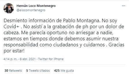 """El """"Loco"""" Montenegro"""