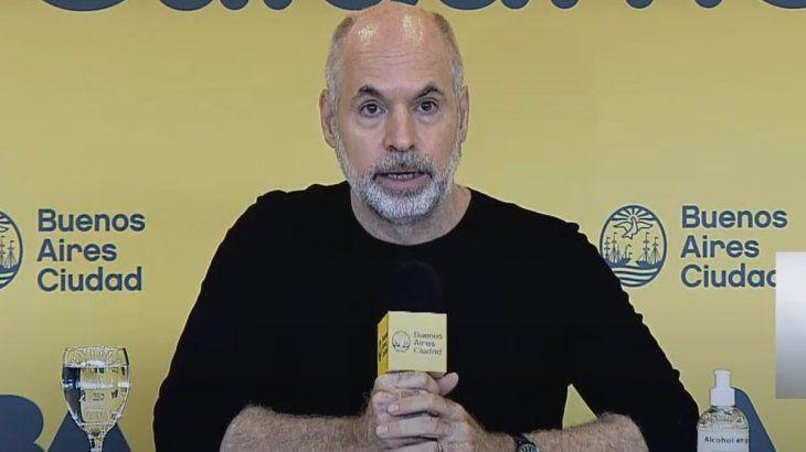 Horacio Rodríguez Larreta 20210408
