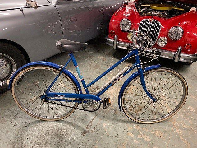 bicicleta de Lady Di