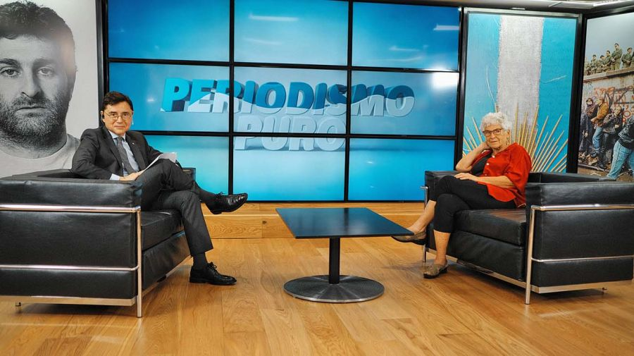 Elizabeth Jelin, en la entrevista con Jorge Fontevecchia.