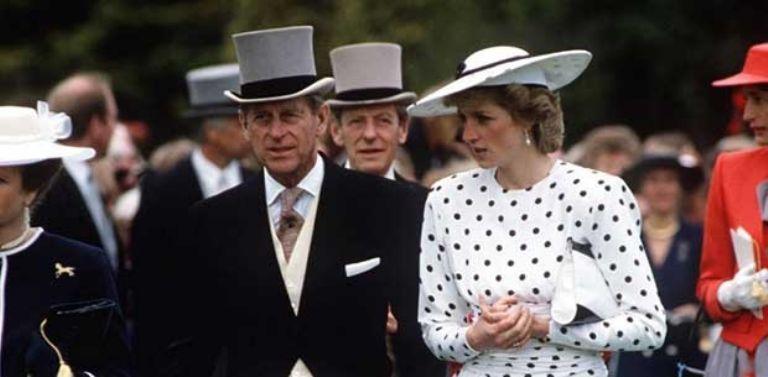 Lady di y el Principe Felipe
