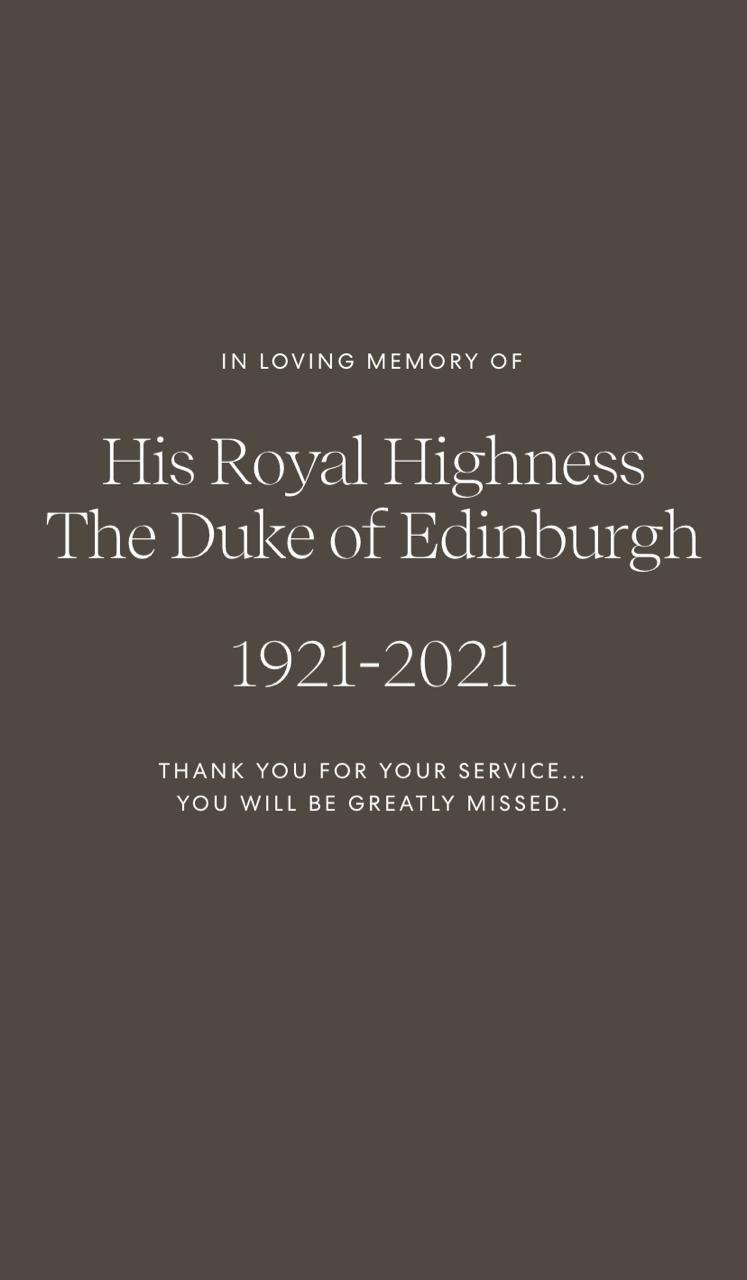 Murió Felipe de Edimburgo: El príncipe Harry y Meghan Markle en jaquelista