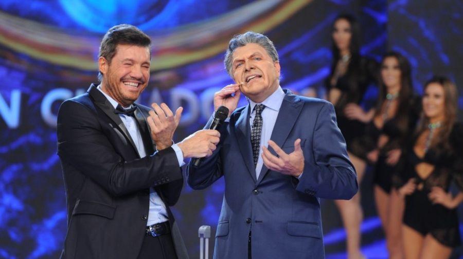 Fredy Villarreal imitando a Mauricio Macri
