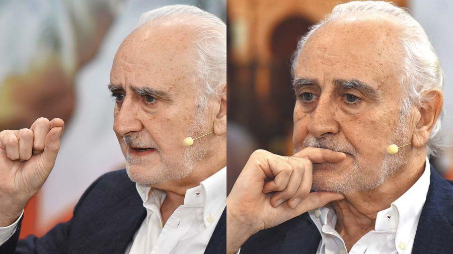 Jorge Remes Lenicov, en la entrevista con Jorge Fontevecchia.