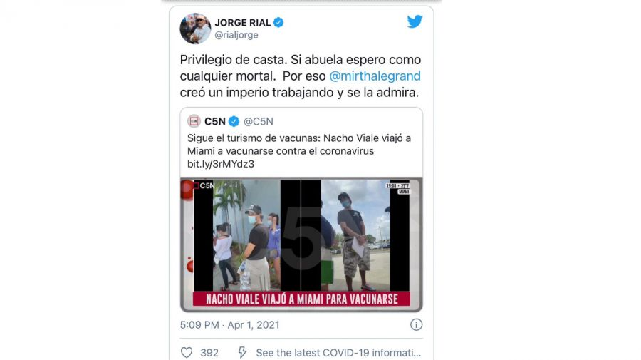Respuestas twitter Nacho Viale 0411