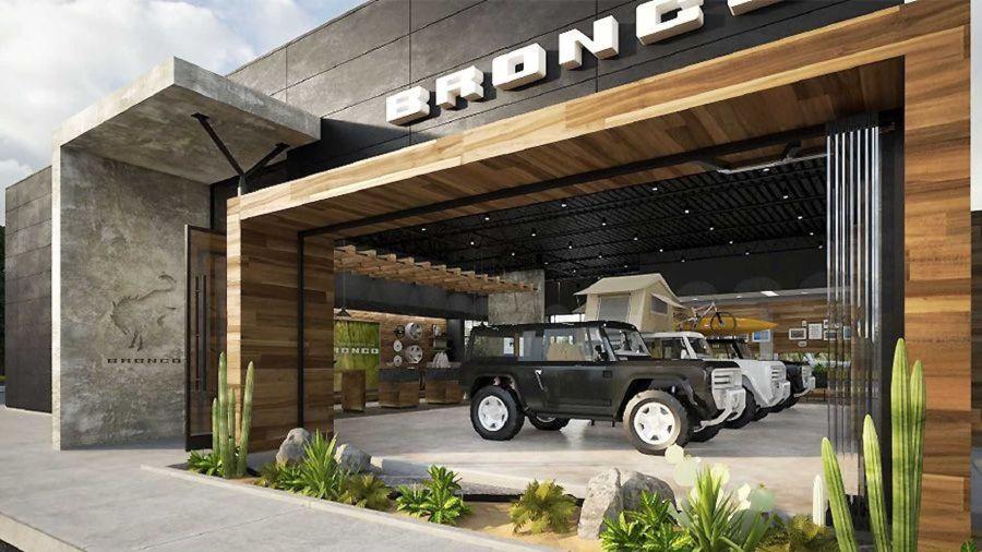 Ford Bronco concesionarios