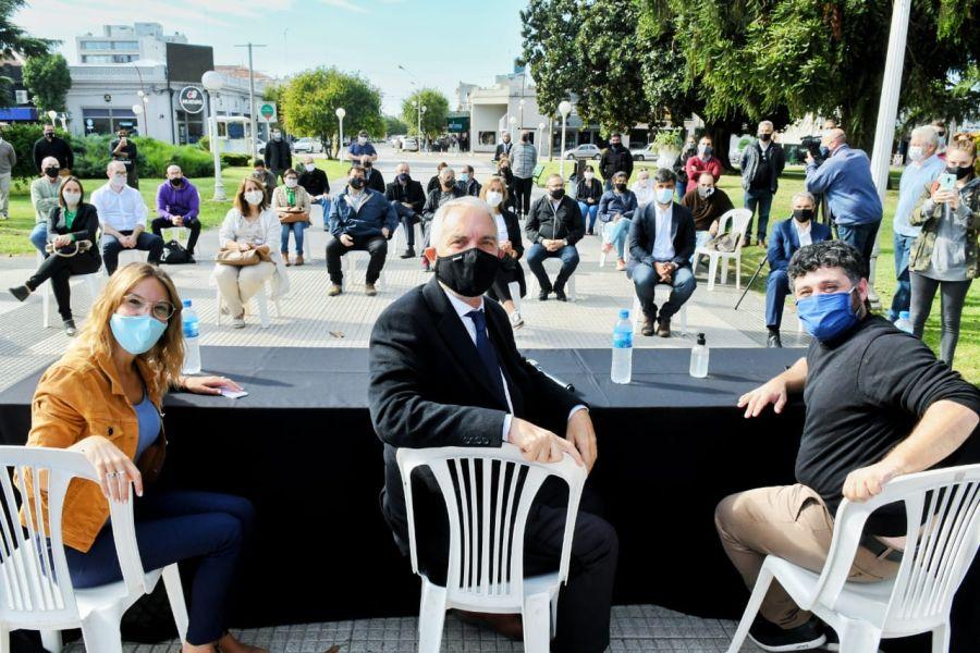 Presentación de la ley en Carmen de Patagones