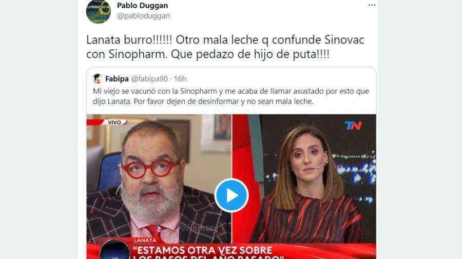 Pablo Duggan Tuit 1304