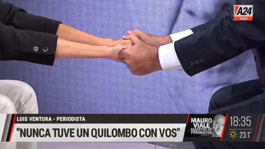 Viviana Canosa y Luis Ventura