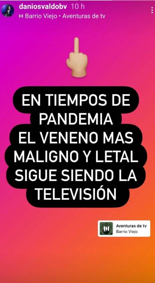 El mensaje de Daniel Osvaldo después de la foto que confirma su romance con Gianinna Maradona