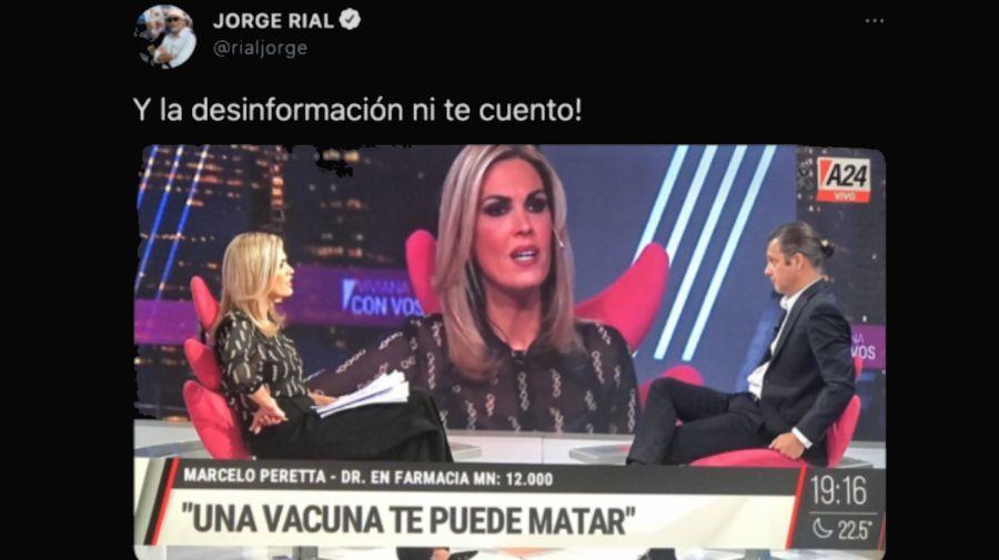 Jorge Rial tuit 1404