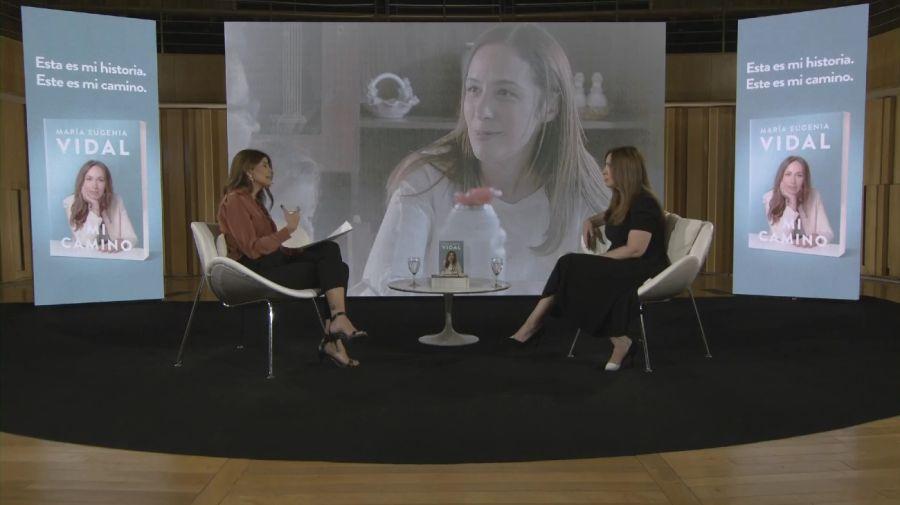 María Eugenia Vidal presentó su libro, Mi Camino