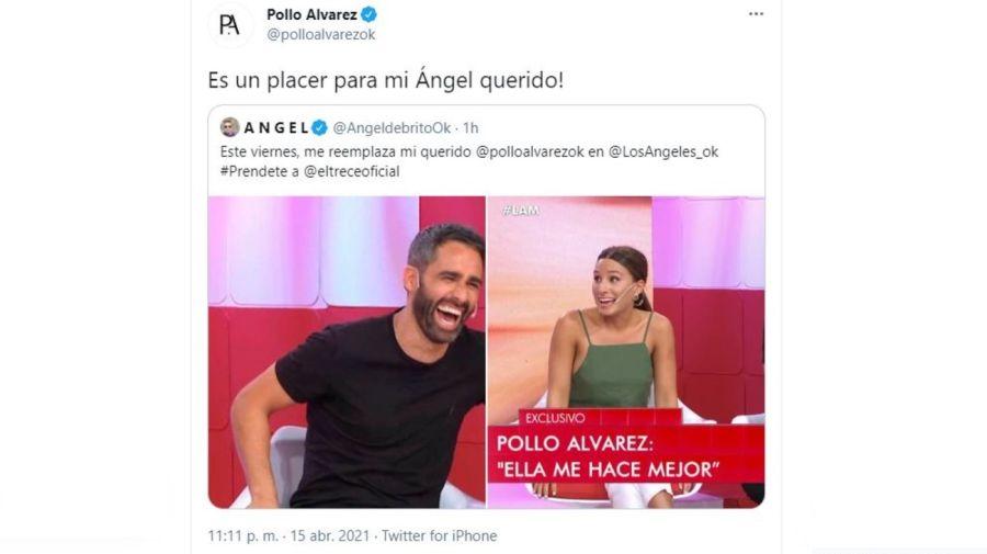 El Pollo Alvarez y Angel de Brito