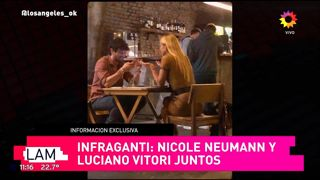 Las primeras fotos de Nicole Neumann junto a quien sería su nuevo novio, Luciano Vitori