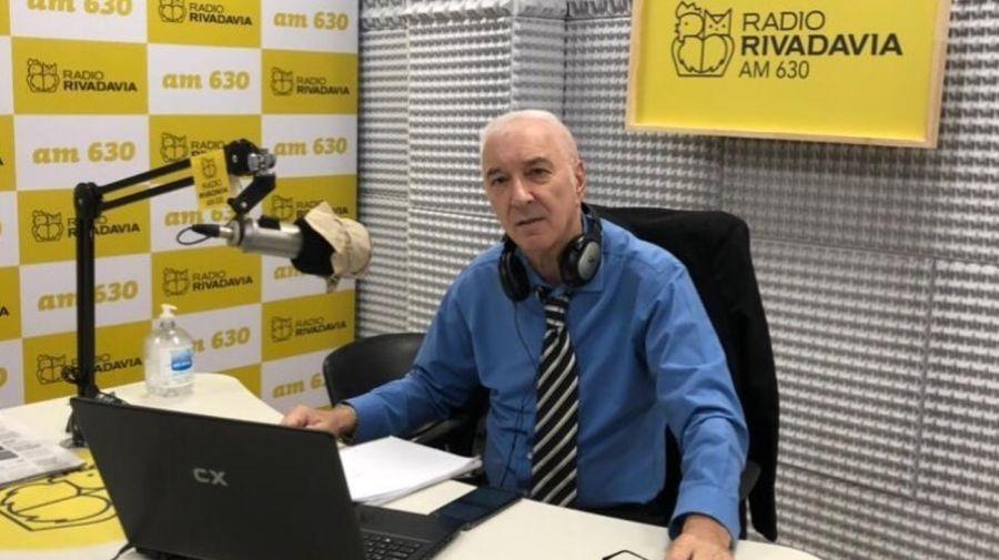 Mauro Viale en Radio Rivadavia