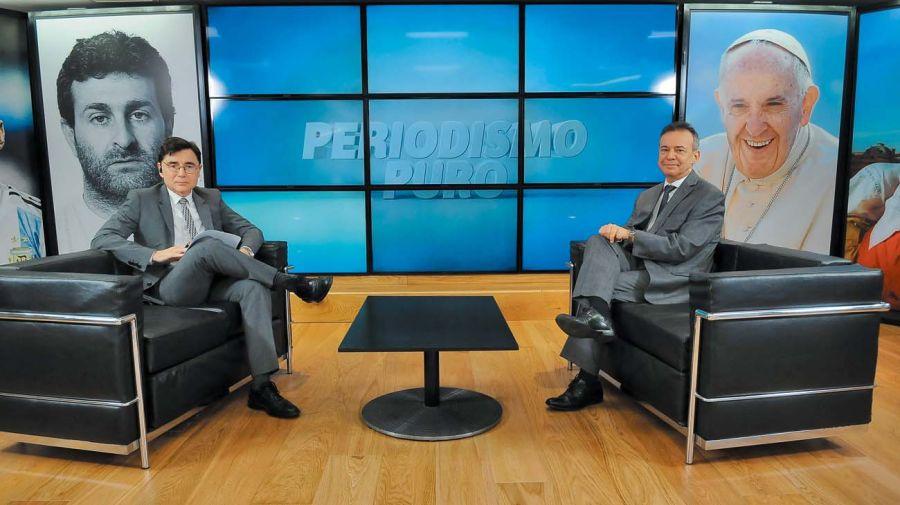 Daniel Artana, en la entrevista con Jorge Fontevecchia.
