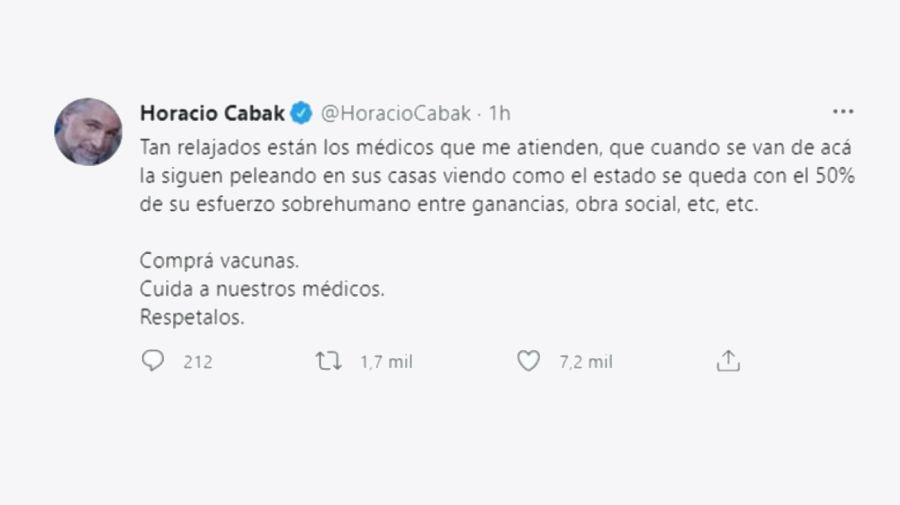 Horacio Cabak 1604