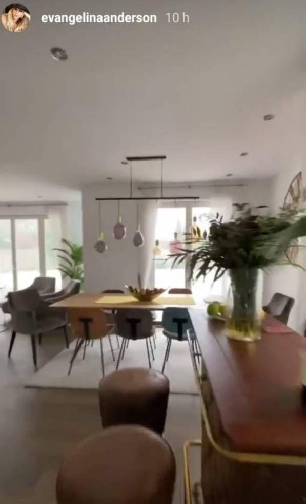 ¡Increíble! Así es la mansión de cuatro pisos de Evangelina Anderson en Alemania