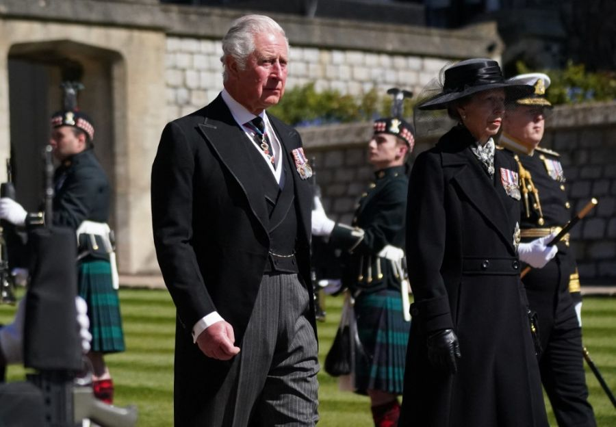 Así fue el último adiós a Felipe de Edimburgo, el marido de la Reina Isabel II
