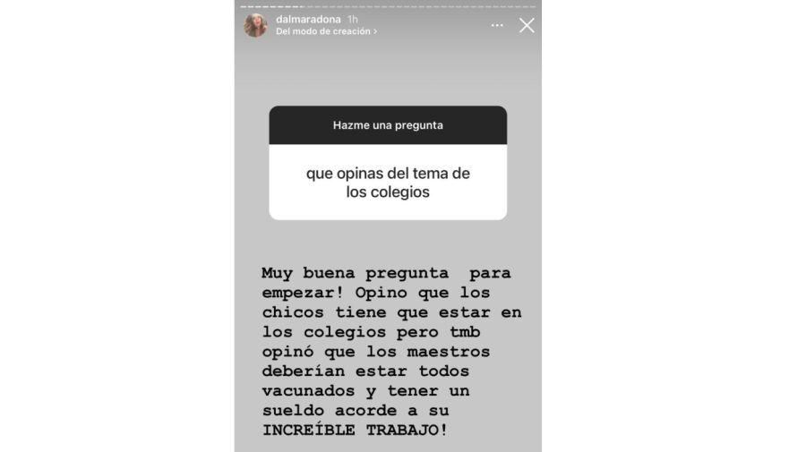 Historias Dalma Maradona 0417