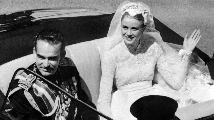 Se cumplen 65 años de la boda de Grace Kelly con el príncipe Rainiero de Mónaco