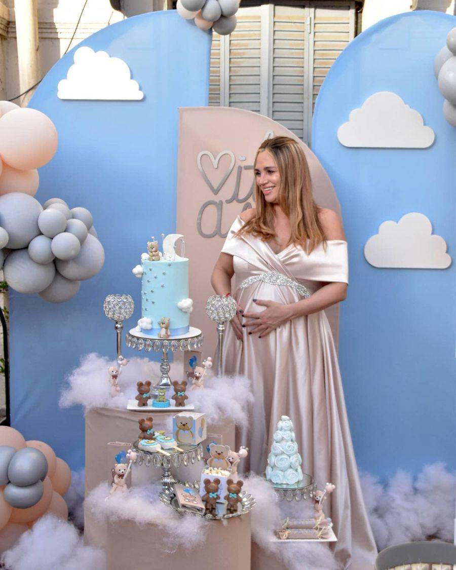 Todos los detalles del glamoroso baby shower de Belén Francese
