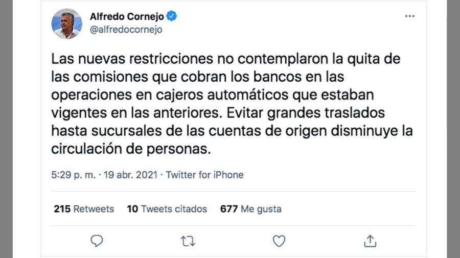 Alfredo Cornejo y Miguel Angel Pesce 20210420