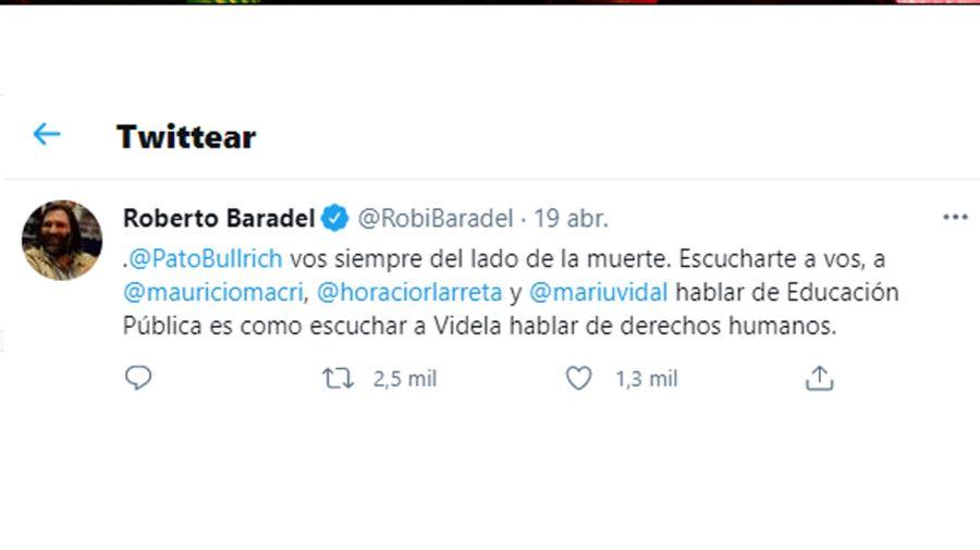 Bullrich y Baradel 20210420