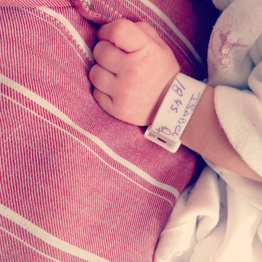 Fue mamá: nació Isabel, la beba de Maru Duffard