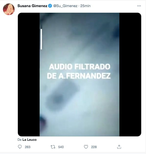 Susana Giménez Alberto Fernández