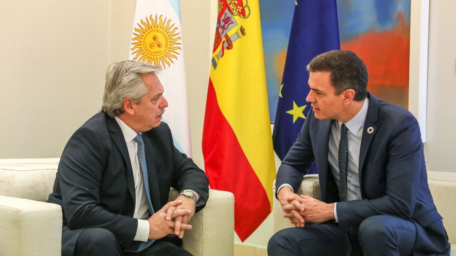 Pedro Sánchez llegó a la Argentina para reunirse con Alberto Fernández y empresarios | Perfil